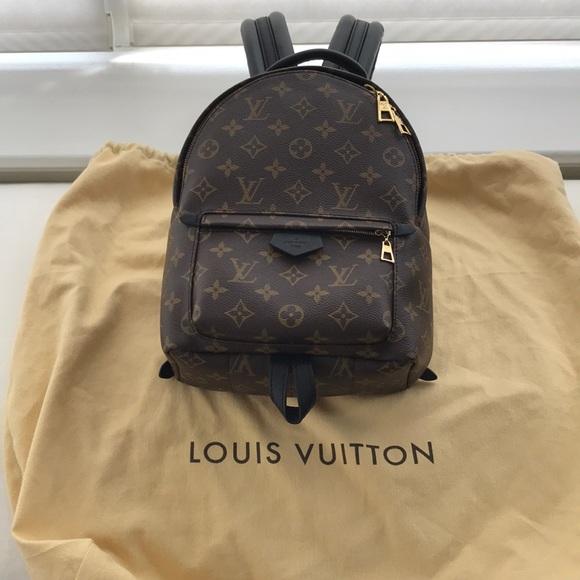 bc7595f0b09 SOLD Louis Vuitton monogram Palm Spring PM